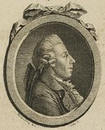 Christian Gottlob Neefe. Engraving after Johann Georg Rosenberg, c. 1798 (Source: Wikimedia)