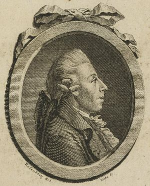 Christian Gottlob Neefe. Engraving after Johann Georg Rosenberg, c. 1798 Christian Gottlob Neefe.jpg