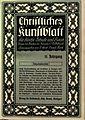 Christliches Kunstblatt für Kirche, Schule und Haus, Umschlag, 1913.jpg