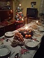 Christmas table and christmas tree in Lower Silesia in Poland.jpg