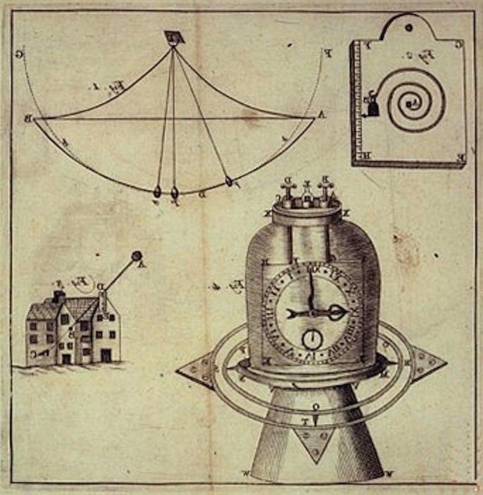 Chronometer of Jeremy Thacker