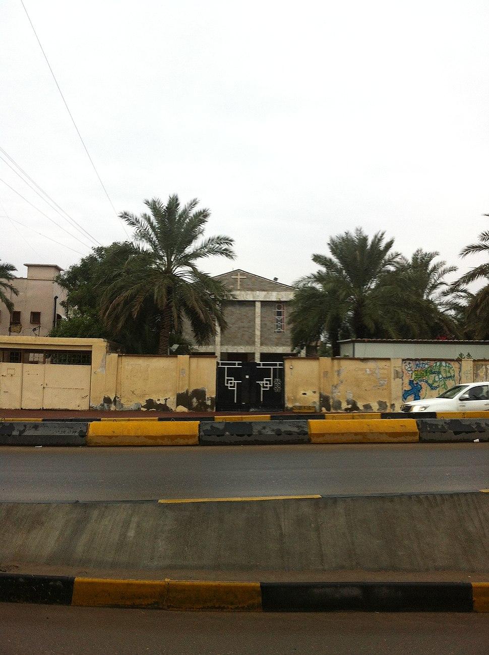 Church-In Basra-Iraq كنيسة في البصرة العراق
