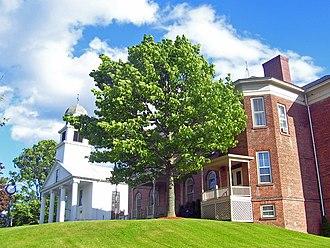 Montgomery (village), New York - First Presbyterian Church and village hall