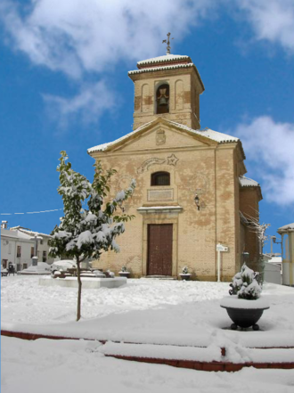 Nívar - Church of Santo Cristo de la Salud, Nívar