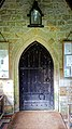 Church of St Andrew, Nuthurst, West Sussex - south porch nave door.jpg