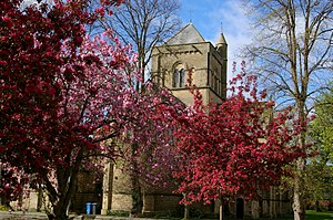Morpeth, Northumberland - Church of St James the Great, built by the architect Benjamin Ferrey in 1846