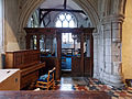 Church of St John, Finchingfield Essex England - North chapel screen.jpg