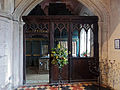 Church of St John, Finchingfield Essex England - South chapel screen.jpg