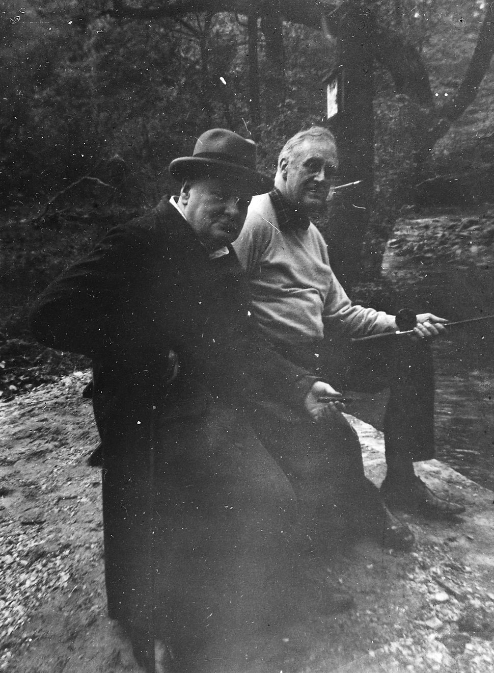 Churchill and Roosevelt 1943