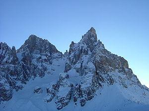 31.4 Dolomity grupa Feltre i Pale di San Martino