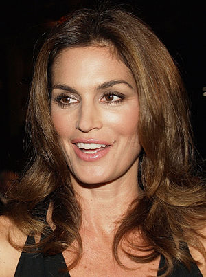 Beauty mark - Supermodel Cindy Crawford is known for her signature beauty mark