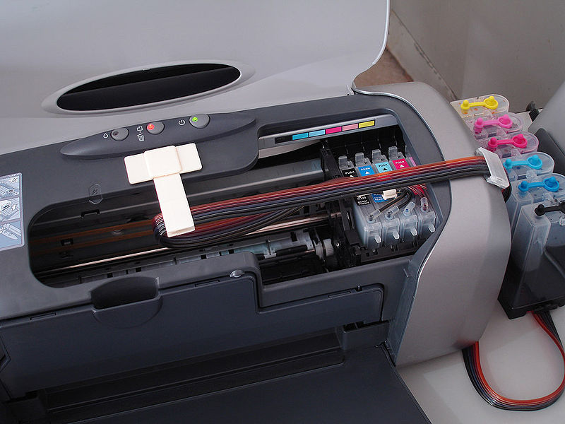 link to picture of CISS printer