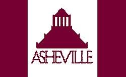 City of Asheville North Carolina Flag