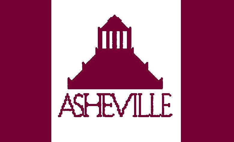 Flag of Asheville, North Carolina