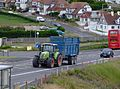 Claas Arion with trailer in Saltdean.jpg