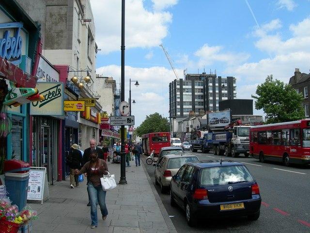 Clapham High Street SW4 (2) - geograph.org.uk - 190145