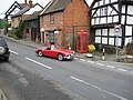 Classic MGA passing through Pembridge - geograph.org.uk - 872189.jpg