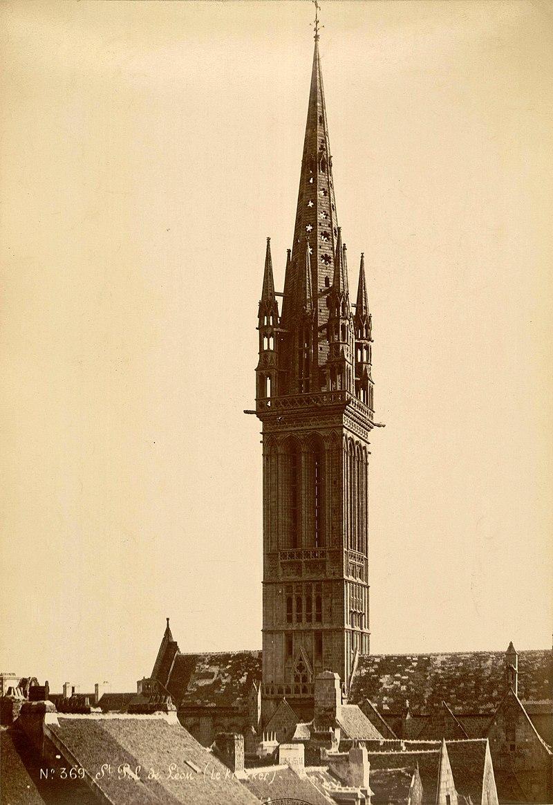 Saint pol de l on n d du kreisker et la cath drale timbre de 1975 - Saint maclou quimper ...