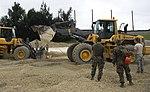 Closing the gap, Airmen, Marines and Sailors practice Air Field Damage Repair (Image 1 of 7) 160519-F-ZC102-105.jpg