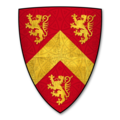 Coat of Arms of HWFA ap CYNDDELW, of Anglesey.png