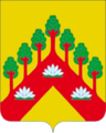 Coat of arms of Krasnostrelskoye.png