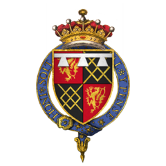 Coat of arms of Sir Thomas Fitzalan, 17th Earl of Arundel, KG.png