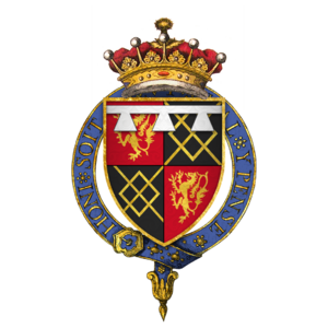 Thomas FitzAlan, 17th Earl of Arundel - Arms of Sir Thomas Fitzalan, 17th Earl of Arundel, KG