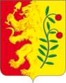 Coat of arms of Uyar (Uyarsky District, 2011).png