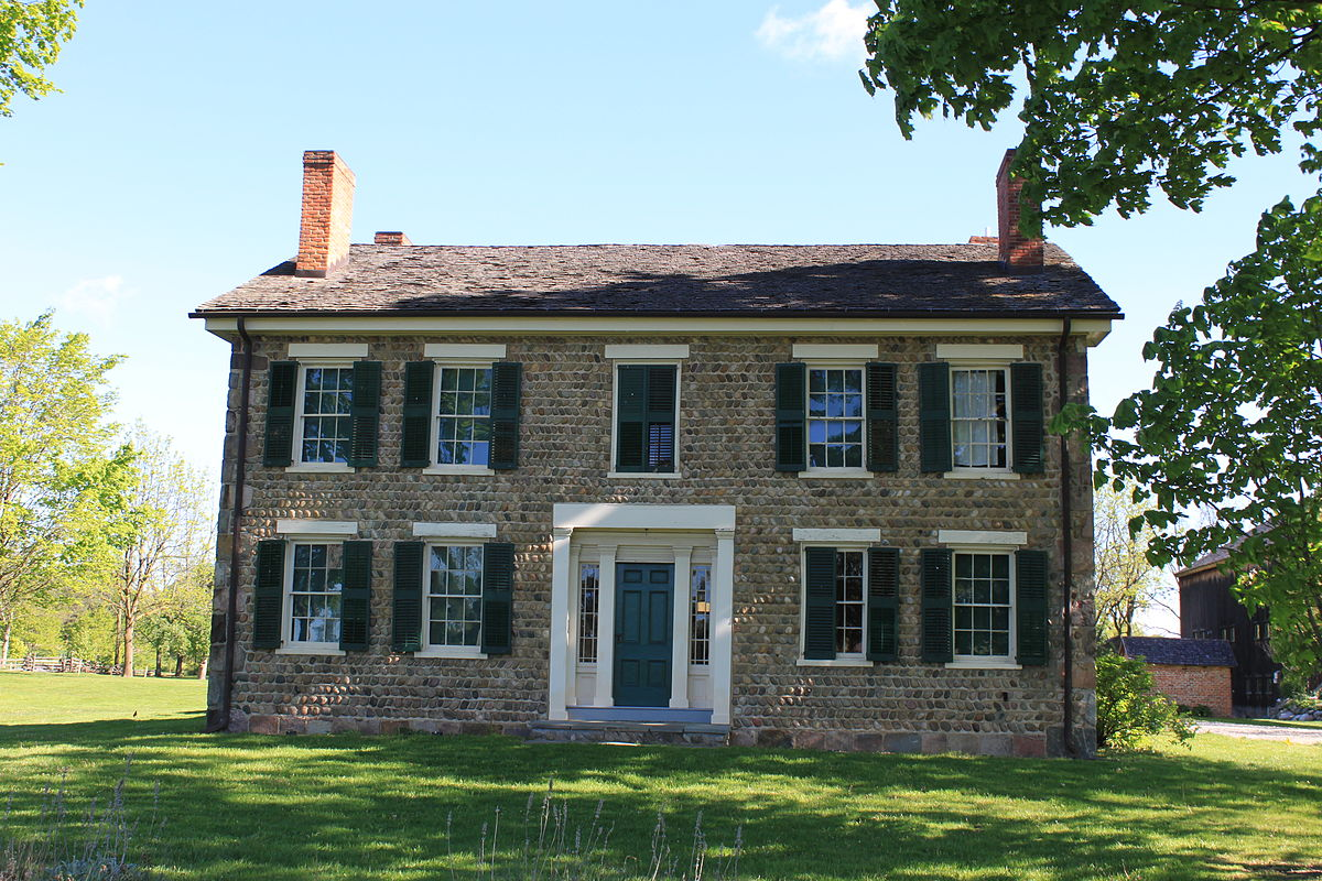 Cobblestone farm and museum wikipedia for Cobblestone house