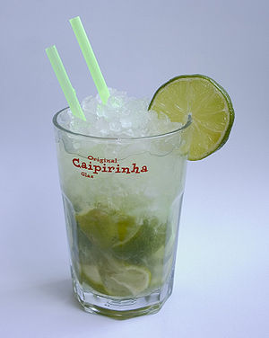 Cocktail Caipirihna a la Wikipedia