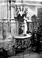 Collégiale Notre-Dame - Bénitier - Vernon - Médiathèque de l'architecture et du patrimoine - APMH00033717.jpg