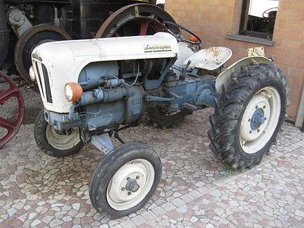 Raging Bull: Lamborghini 1R Tractor