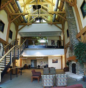 Southwestern Community College (North Carolina) - Inside the Macon Campus, 2009.