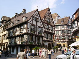 Colmar's old town.