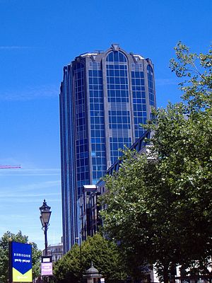 Colmore Gate - The building in Summer