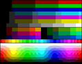 Colour chart of SAM Coupé hardware palette.png