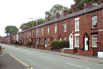 Chadderton - A consequence of Chadderton's industrial development was its transformation from a rural manor to a densely populated working class town, with extensive areas of terraced housing.