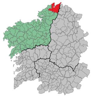 Ortegal Comarca in Galicia, Spain