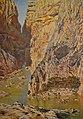 Congost de Los Gaitanes (Màlaga), Antonio Muñoz Degrain, Museu de Belles Arts de València.JPG