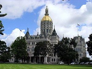 Connecticut General Assembly - Image: Connecticut State Capitol, Hartford