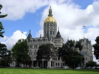 Connecticut Senate - Image: Connecticut State Capitol, Hartford