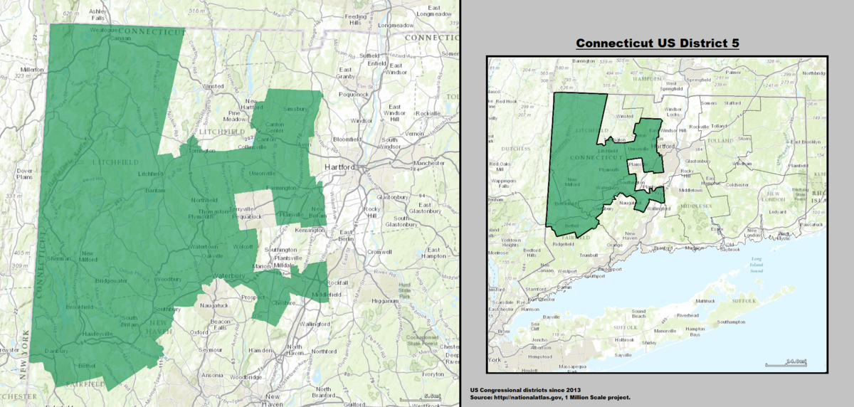 Connecticut s 5th congressional district
