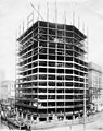 Construction of the seventeenth and eighteenth floors at the Smith Tower construction site, Seattle, Washington, December 21 (SEATTLE 4911).jpg