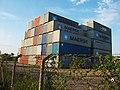 Containers Pátio da empresa Fassina Mar-2102. - panoramio.jpg