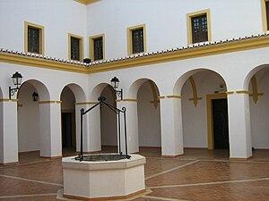 Lagoa, Algarve - Cloister of the Convent of Saint Joseph from Carmelite nuns.