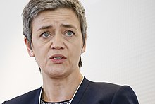 Conversation with Margrethe Vestager, European Commissioner for Competition (17222242662).jpg