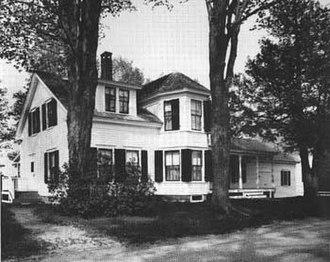Coolidge Homestead - The Coolidge Homestead, 1976.