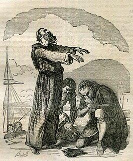1840 historical novel by James Fenimore Cooper