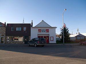 Cooperstown, North Dakota - Cooper Theatre in Cooperstown
