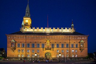 Headquarters of the municipal council of Copenhagen